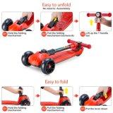 Складные продаж с возможностью горячей замены для скутера ног для детей