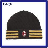 Personnalisés brodés de haute qualité de l'hiver en tricot tricot de Red Hat Beanie Hat acrylique Hat