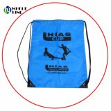 Regalo promocional personalizado de un gimnasio deportivo Mochila saco bolsas Polyster Drawstring
