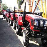 倍数はトラクター4つの車輪の農場作用する