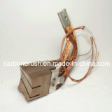Escova de carbono de metal com fio de linha de fio máquina de desenho