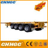 販売のための平床式トレーラーの容器または大きさのセメントの輸送のトレーラー
