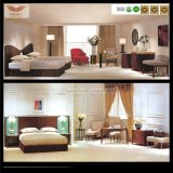 Jogo de quarto de madeira personalizado moderno da mobília do quarto do hotel (HY-027)
