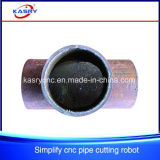 Tubulação do ferro e máquina de estaca oca do plasma do CNC das câmaras de ar