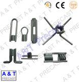 GM003 banda delgada pierna cuatro piezas de inserción de bobina con alta calidad