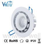 Réglable de 4 pouces 8 pouces de 6 pouces 15W 20W 25W 30W à LED de lumière au plafond
