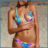 2018 bester verkaufenfrauen-reizvoller zweiteiliger Bikini-Badeanzug