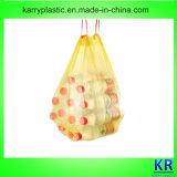 Пластичные мешки Drawstring, пластичный вкладыш выжимк с Drawtape