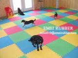 Gummi Sports Bodenbelag-Matte für Gymnastik-Sport mit farbigen Flecken