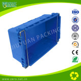 As caixas industriais Stackable do armazenamento do preço barato usaram caixas plásticas para a venda