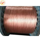 Haste de massa de aço revestido de cobre