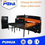 Baja precio de la máquina de perforación Torreta CNC de acero de la placa