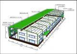 Marco de edificio ligero de la estructura de acero (KXD-SSB1236)