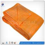 HDPE bleu orange Tarps imperméable à l'eau enduit à vendre