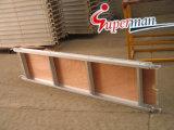 Planche en bois d'aluminium pour échafaudage