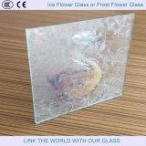 Vetro di vetro del fiore del ghiaccio o del fiore di gelo