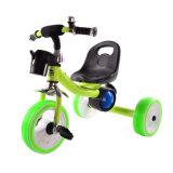 Tricycle matériel de bébé de roues du fer pp de véhicule de jouet