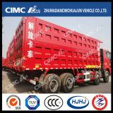 FAW / Hongyan / Shacman / HOWO / Dongfeng / Beiben / Liuqi 6 * 4 Camião basculante com Cimc Huajun Caixa de carga reforçada