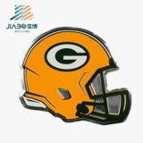 In lega di zinco su ordinazione ha annunciato i perni duri del distintivo dello smalto del metallo di marchio del casco