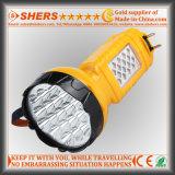 SMD LED表ライト(SH-1953)が付いている再充電可能な19のLEDの懐中電燈