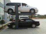 Hydraulique-Stationnement 1127 deux véhicules arrêtant le levage à la maison de garage