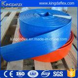 농업 농장 관개 PVC에 의하여 강화되는 Layflat 호스