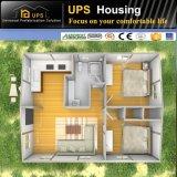 Montaje rápido costo casa prefabricada residencial permanente y la resistencia al viento