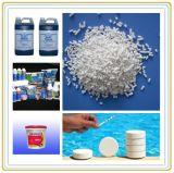 Natrium Dichloroisocyanurate voor het Desinfecterende Chemische product van het Water van het Zwembad (SDIC)