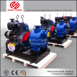 40HP de diesel Pomp die van het Water met Pomp de Met duikvermogen van de Irrigatie werken