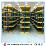 設計されていた容易アセンブルする細長かった角度の棚付け、容易な本のための棚をアセンブルする記憶のための細長かった角度の棚付けを放しなさい