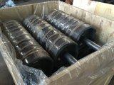 Polea del transportador, rodillo resistente, tambor de acero de la polea del transportador de correa para la venta
