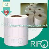Couche de revêtement Traditionnel imprimable BOPP film synthétique avec traitement de surface