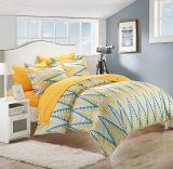 2017 Nuevo Diseño 100% algodón/poliéster tejido microfibra juego de ropa de cama para el hogar