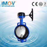 Bolacha Type Butterfly Valve com Two Shaft