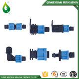 Ajustage de précision de pipe de arrosage de picot de boyau d'irrigation de couplage de blocage