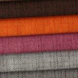 Sergé de polyester et capitonnage de teinture de croix pour le tissu de sofa et de literie