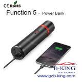 Dispositivo d'avviamento multifunzionale portatile di salto dell'automobile di batteria 6000mAh