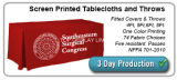 Tampa de tabela do projeto/Tablecloth personalizados