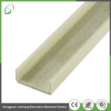 Customized Pultrusion reforçado o perfil de fibra de vidro de 2 mm