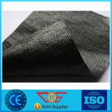Geotessuto tessuto pellicola spaccato pp nero 75g