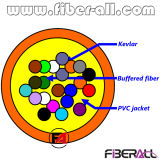8 gruppo di fibra ottica di simplex del cavo 0.9mm di distribuzione dell'interno delle fibre