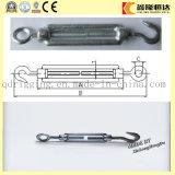 Корпус из нержавеющей стали 6 мм с крюком и крюк DIN1480 открытый орган стяжной муфты