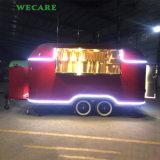 工場からの電気移動式食糧トレーラー