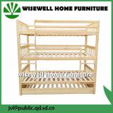 固体マツ木分離可能な三重の二段ベッド