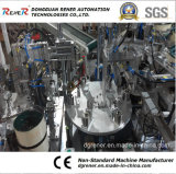 Equipo de la automatización para el hardware plástico