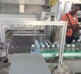 Machine d'emballage en papier rétrécissable de bouteille de boisson avec le film de PE