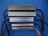 Bloc d'alimentation imperméable à l'eau d'éclairage de tension continuelle de la qualité 100W de Hight