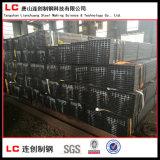 Q195 Q235 Q345 ERWの正方形および長方形の黒い鋼管
