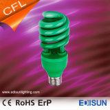 Demi de lampes économiseuses d'énergie spiralées colorées de la lumière 20W 26W E27 de CFL pour la décoration