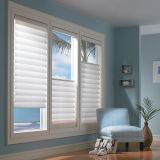 Chambre à coucher de volets en PVC fenêtre en vinyle